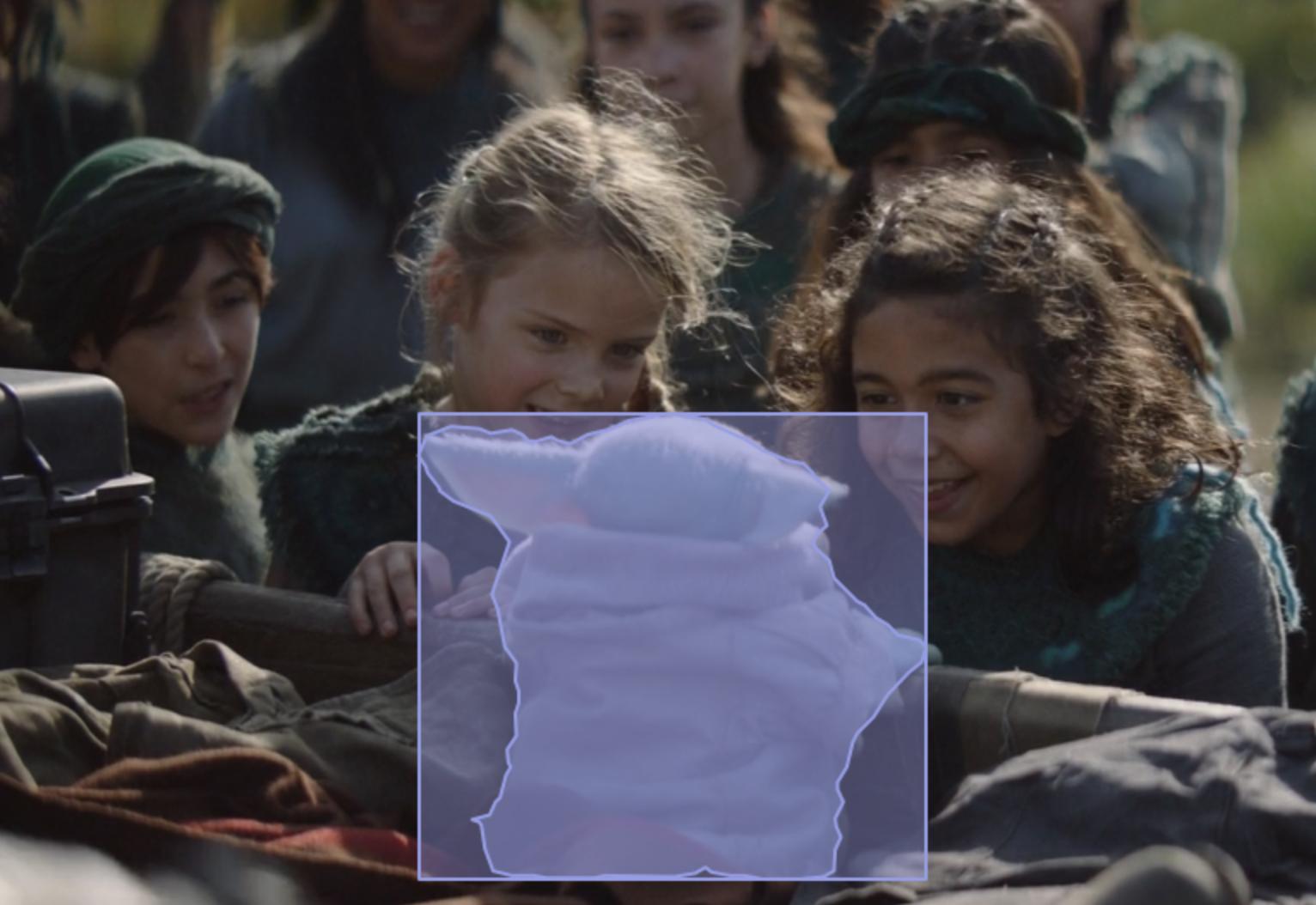 Grogu Baby Yoda segmentation